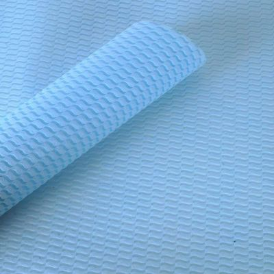 Paper Pep Fibre Series Wrapping Paper Laces Light Blue Pack of 20 Sheets, Size:LB(inch)- 23x23